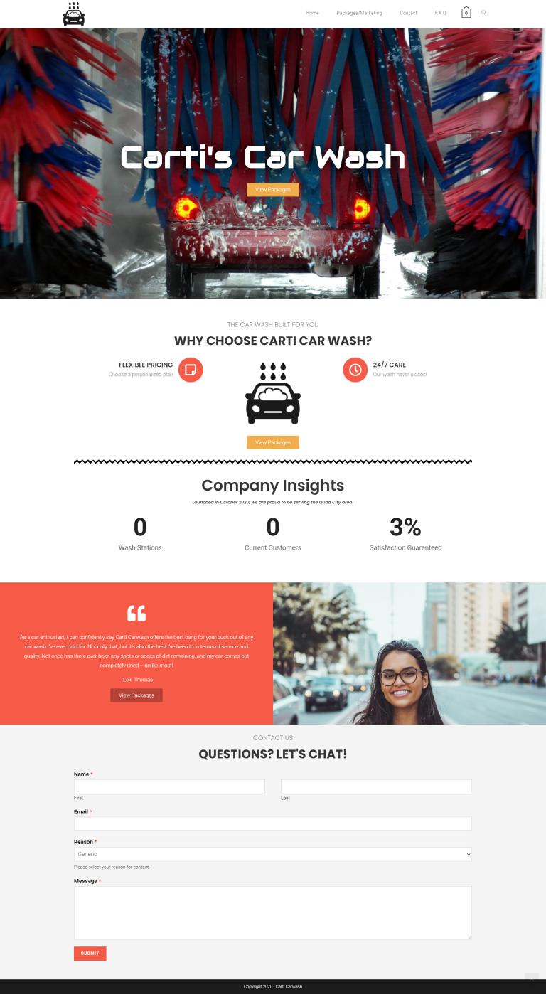 Web Design Portfolio