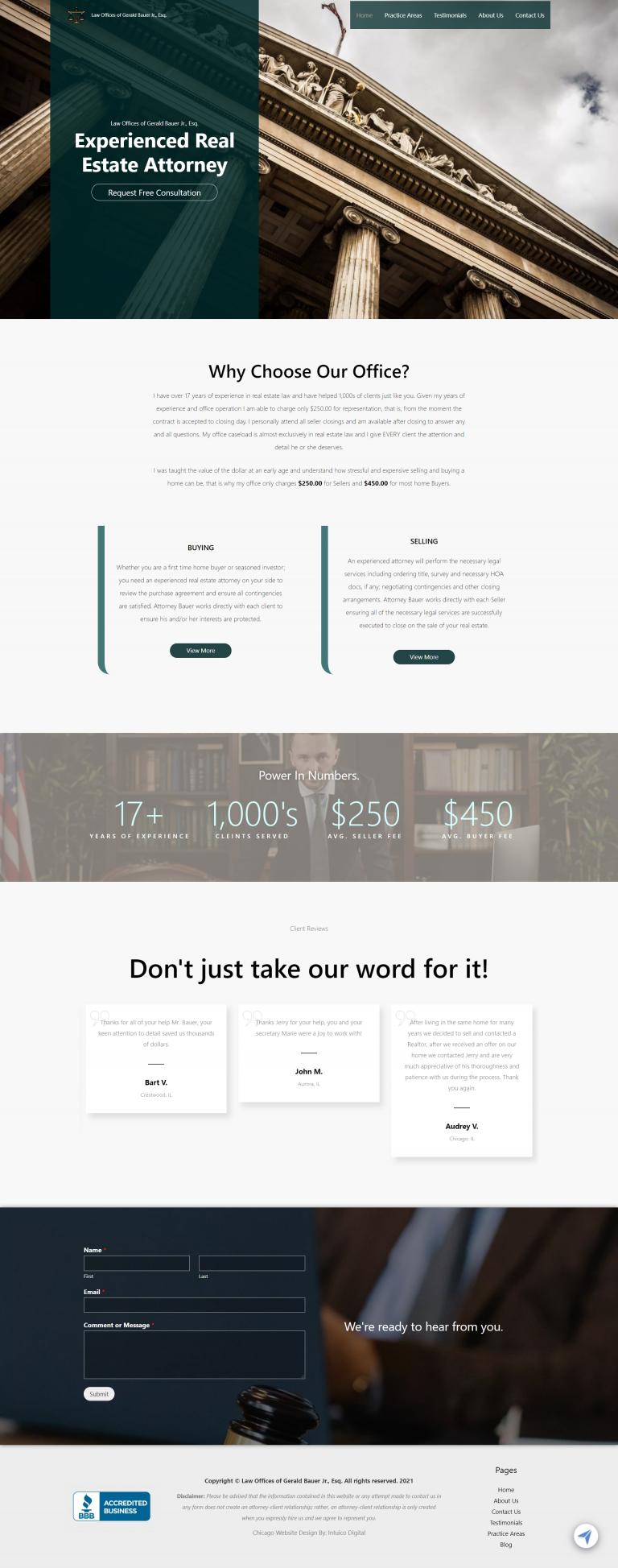 Chicago Website Design Intuico Digital